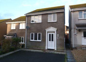 Thumbnail 3 bed semi-detached house to rent in Hazelmead, Liskeard
