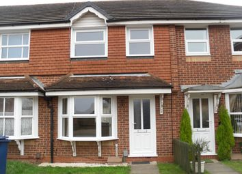 Thumbnail 2 bed terraced house for sale in Godwit Close, Whittlesey
