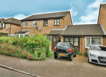 Thumbnail 3 bed semi-detached house for sale in Engaine Drive, Shenley Church End, Milton Keynes