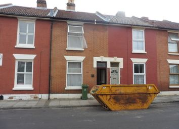 Thumbnail 4 bed terraced house to rent in Wisborough Road, Southsea