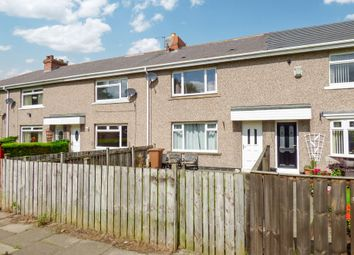 Thumbnail 2 bed terraced house for sale in Fletcher Crescent, New Herrington, Houghton Le Spring
