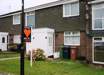 Thumbnail 2 bedroom flat to rent in Marlesford Close, Moorside, Sunderland
