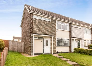 Thumbnail 3 bed end terrace house for sale in Dawley Close, Thornaby, Stockton-On-Tees