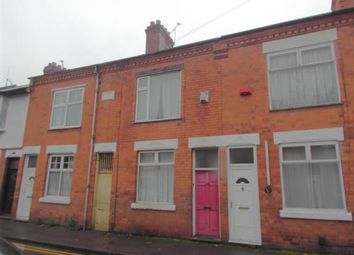 Thumbnail 2 bed terraced house for sale in Beaumanor Road, Leicester