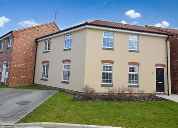 Thumbnail 2 bed flat for sale in Poppy Road, Witham St Hughs, Lincoln