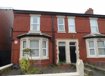 Thumbnail 2 bedroom flat to rent in Burlington Road, Blackpool