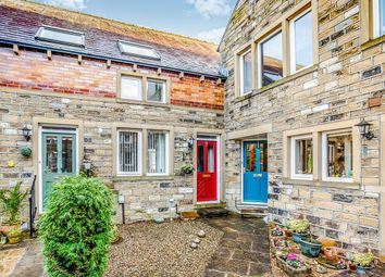 Thumbnail 3 bed terraced house for sale in Old School Lane, Almondbury, Huddersfield