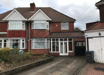 Thumbnail 3 bed semi-detached house to rent in Douglas Avenue, Hodge Hill, Birmingham