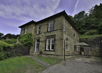 Thumbnail 3 bed semi-detached house for sale in Wood Bank East, Burnley Road, Luddendenfoot, Halifax