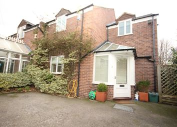Thumbnail 2 bed semi-detached house to rent in Edgar Place, Handbridge, Chester