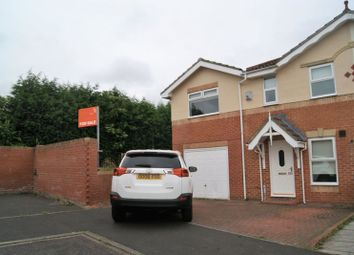 Thumbnail 3 bedroom end terrace house for sale in Woodlea, Forest Hall, Newcastle Upon Tyne