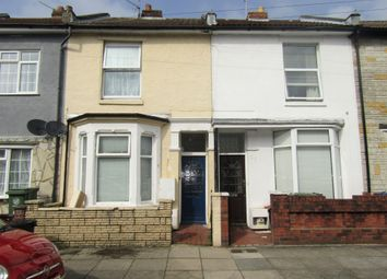 Thumbnail 2 bed terraced house to rent in Essex Road, Southsea