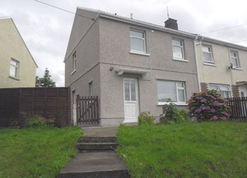 Thumbnail 2 bed semi-detached house to rent in Heol Y Bwlch, Cwmavon, Port Talbot