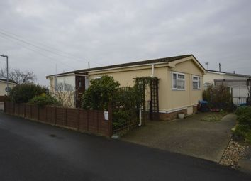 Thumbnail 2 bed bungalow for sale in Hoo Marina Park Vicarage Lane, Hoo, Rochester