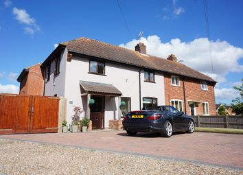 Thumbnail 3 bed semi-detached house for sale in Garden Lane, Worlingham, Beccles