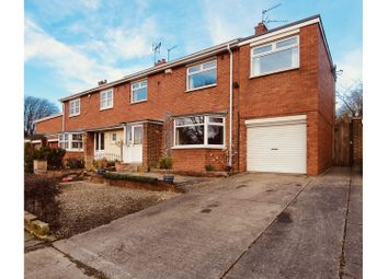 Thumbnail 5 bed semi-detached house for sale in Yoden Road, Peterlee