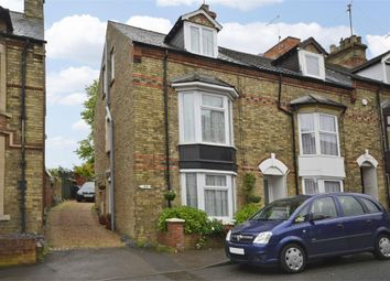 Thumbnail 2 bed end terrace house for sale in Wellington Road, Raunds, Northamptonshire