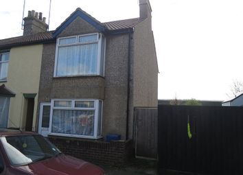 Thumbnail 3 bed end terrace house for sale in Garland Road, Parkeston, Harwich