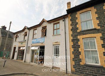 Thumbnail 1 bed flat to rent in Heol Y Llan, Llanbadarn Fawr, Aberystwyth
