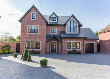 Thumbnail 5 bed detached house for sale in Hob Hey Lane, Culcheth, Warrington