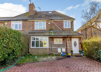 Thumbnail 4 bed semi-detached house for sale in Slipshatch Road, Reigate, Surrey