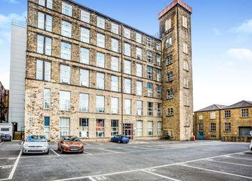 Thumbnail 2 bedroom flat for sale in Savile Street, Milnsbridge, Huddersfield