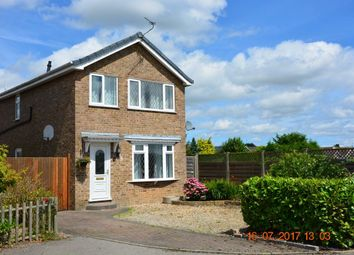 Thumbnail 3 bedroom detached house to rent in Hunters Close, Haxby, York