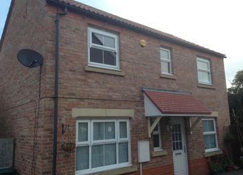 Thumbnail 3 bedroom detached house to rent in Stock Close, Norton, Malton