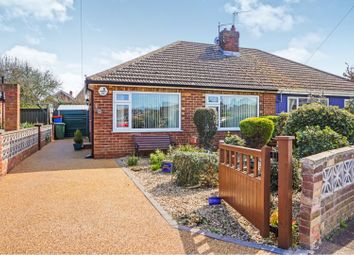 Thumbnail 2 bed semi-detached bungalow for sale in Clee Ness Drive, Humberston, Grimsby