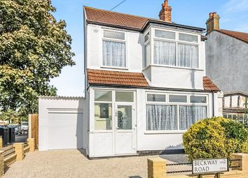 Thumbnail 3 bed detached house for sale in Beckway Road, London