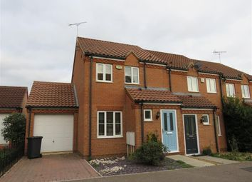 Thumbnail 2 bed end terrace house for sale in Thorn Road, Hampton Hargate, Peterborough