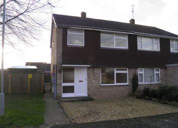 Thumbnail 3 bedroom semi-detached house to rent in Deer Park Road, Langtoft, Peterborough, Lincolnshire