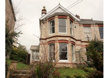 Thumbnail 4 bed semi-detached house for sale in Abbotsham Road, Bideford