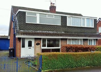 Thumbnail 3 bed semi-detached house for sale in Knowsley Close, Hoghton, Preston, Lancashire