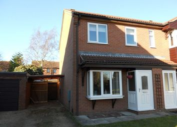 Thumbnail 2 bed semi-detached house to rent in Goxhill Close, Lincoln