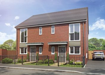 Thumbnail 3 bed semi-detached house for sale in Plot 84 Weogoran Park, Whittington Road, Worcester