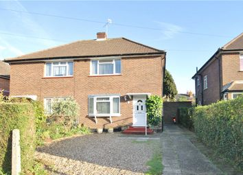 Thumbnail 2 bed semi-detached house for sale in The Crescent, Egham, Surrey