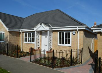 Thumbnail 2 bedroom semi-detached bungalow for sale in Walker Gardens, Wrentham, Beccles
