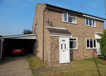Thumbnail 2 bed semi-detached house to rent in St Martins Green, Trimley St Martin, Felixstowe