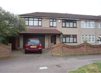 Thumbnail 4 bed semi-detached house for sale in Maybank Avenue, Hornchurch