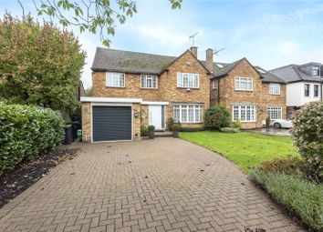 Thumbnail 4 bed detached house for sale in Kingwell Road, Hadley Wood, Hertfordshire