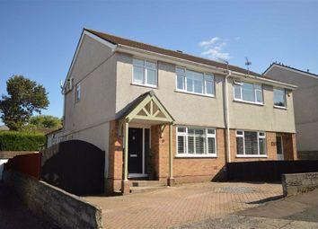 Thumbnail 4 bed semi-detached house for sale in Rosewarne Close, Waunarlwydd, Swansea