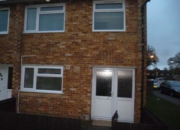 Thumbnail 2 bed end terrace house to rent in Rosemary Close, Chatham
