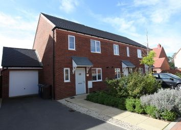 Thumbnail 3 bed end terrace house to rent in Linnett Road, Bodicote