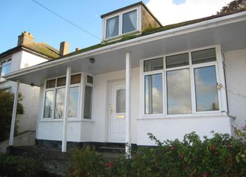 Thumbnail 3 bed bungalow to rent in Downs View, West Looe, Cornwall