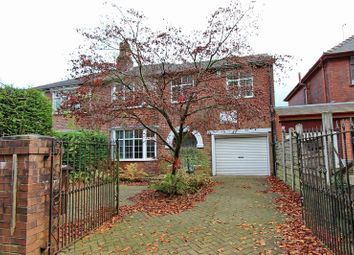 Thumbnail 4 bed semi-detached house for sale in Pinfold Lane, Whitefield, Manchester