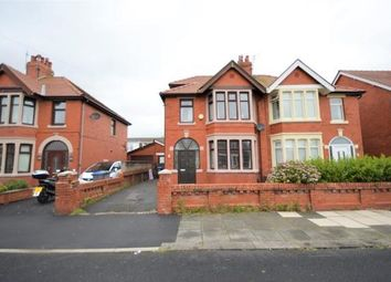 Thumbnail 4 bed semi-detached house for sale in Burgess Avenue, Blackpool