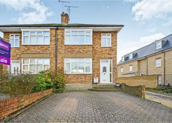 Thumbnail 3 bed semi-detached house for sale in Crescent Road, Brentwood