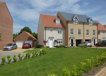 Thumbnail 3 bedroom town house for sale in East Close, Bury St. Edmunds