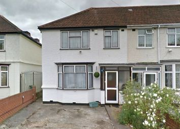 Thumbnail 3 bed end terrace house for sale in Raleigh Road, Southall